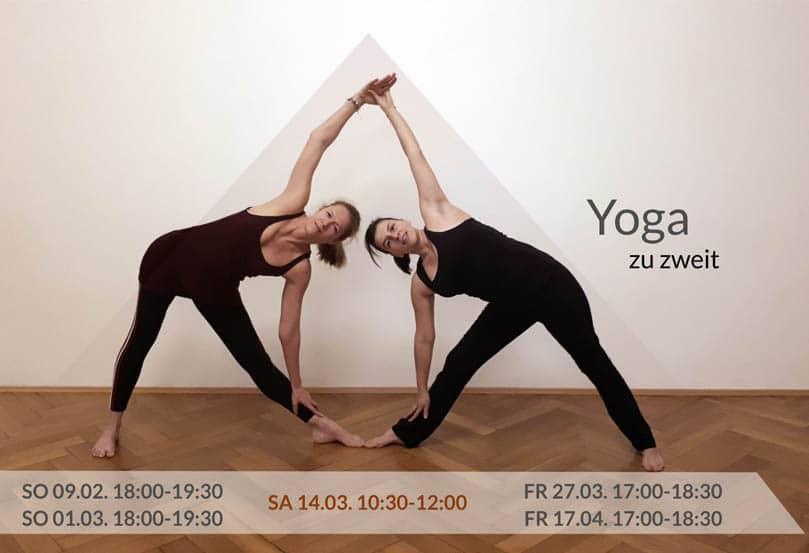 Yoga zu Zweit Frühjahr 2020